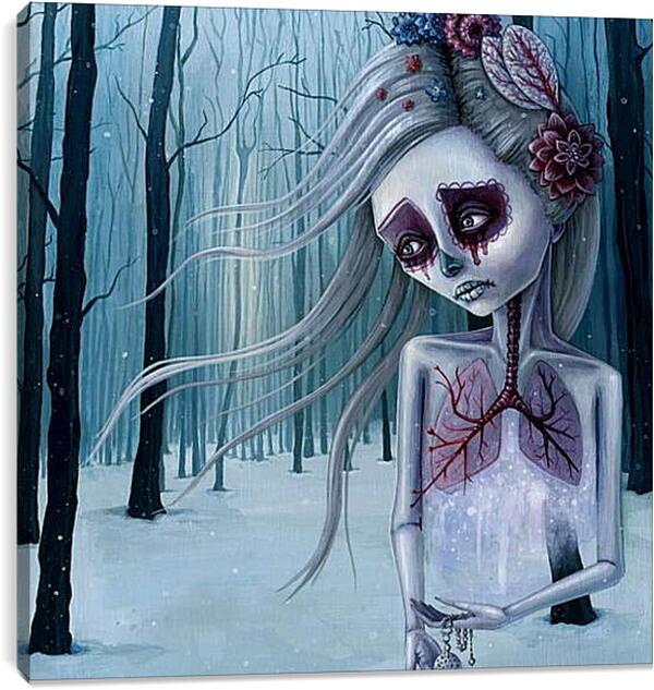 Постер на подрамнике - Душа