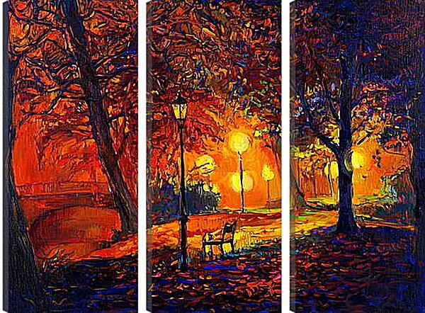 Модульная картина - Одинокая осень