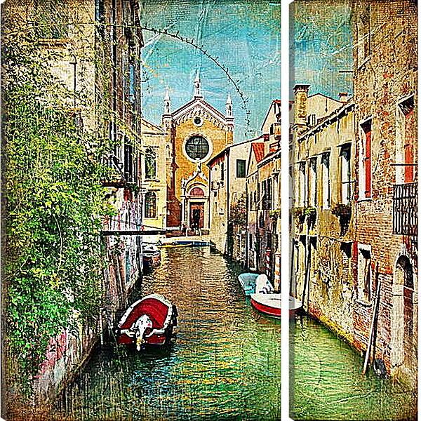 Модульная картина - Венецианская улочка