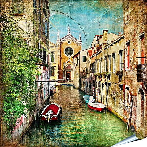 Плакат на стену - Венецианская улочка