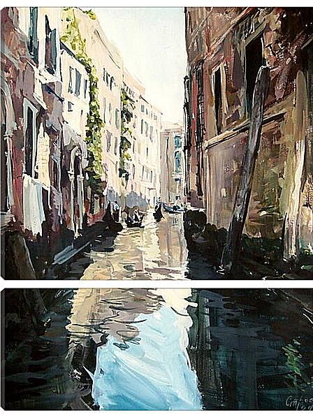 Модульная картина - Город каналов