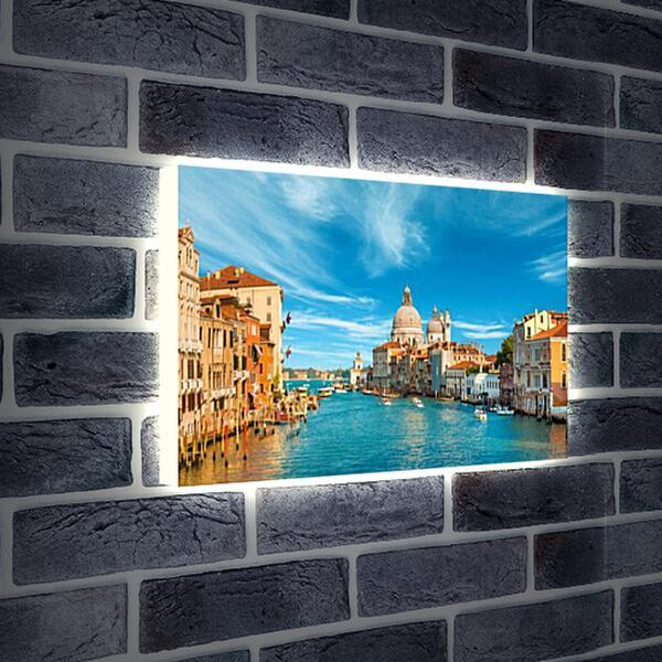 Лайтбокс световая панель - Красота Венеции