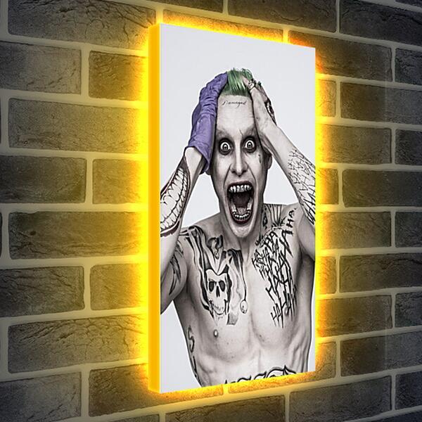Лайтбокс световая панель - Отряд самоубийц. Джокер