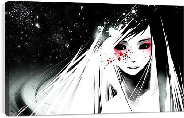 Постер на подрамнике - Упавшая звезда