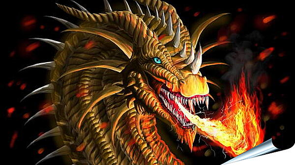 Плакат на стену - Дыхание дракона