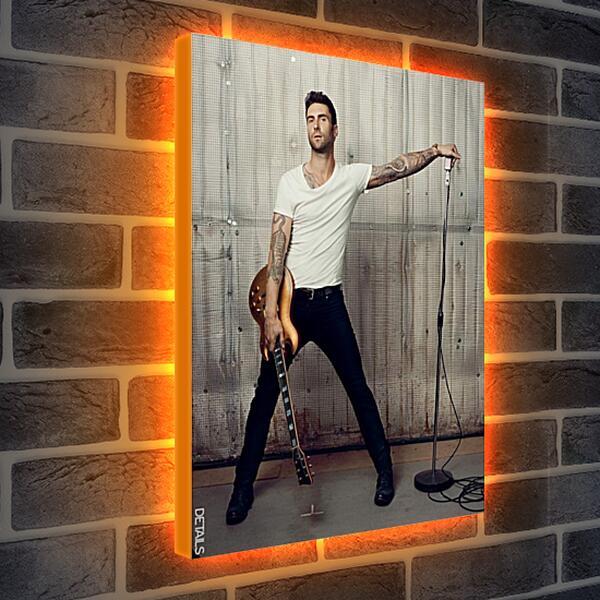Лайтбокс световая панель - Адам Левин