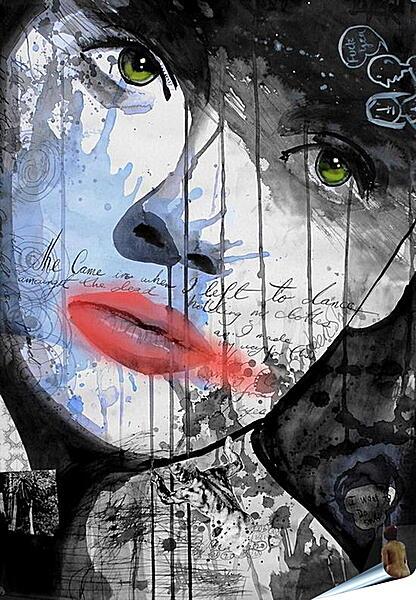 Плакат на стену - Портрет девушки