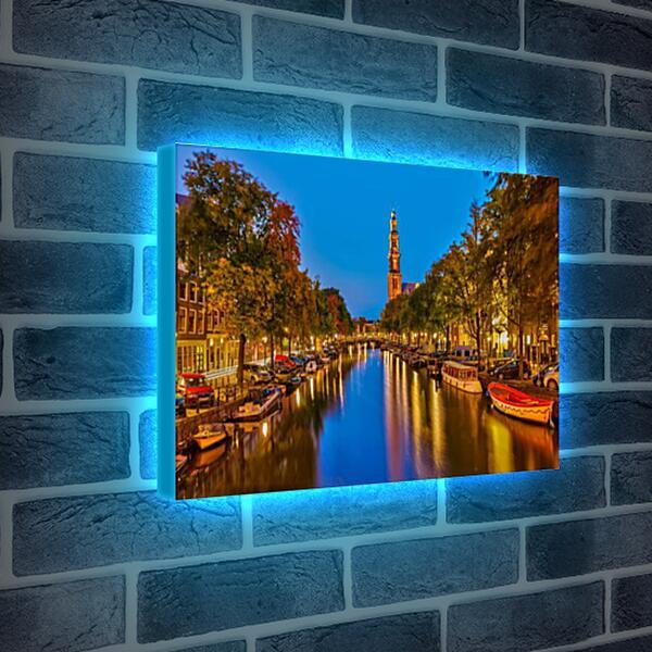 Лайтбокс световая панель - Амстердам