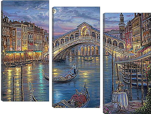 Модульная картина - Венеция