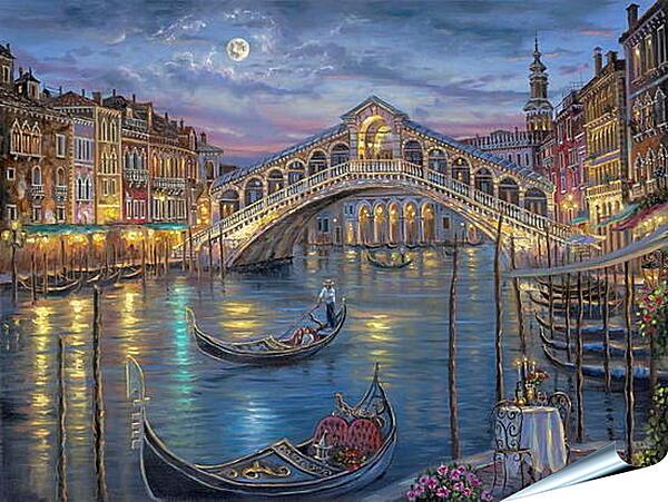 Плакат на стену - Венеция