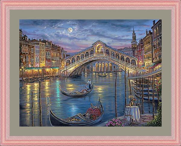 Картина в раме - Венеция