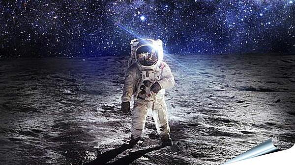 Плакат на стену - На неизведанной планете