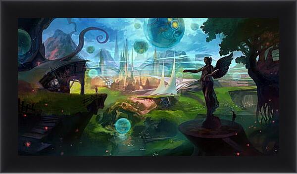 Картина в раме - Фантастический мир