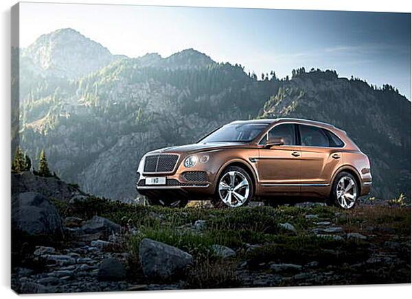 Постер на подрамнике - Бентли (Bentley)
