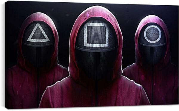 Постер на подрамнике - Джиджи Хадид
