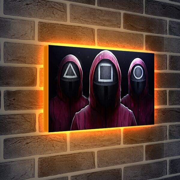 Лайтбокс световая панель - Джиджи Хадид