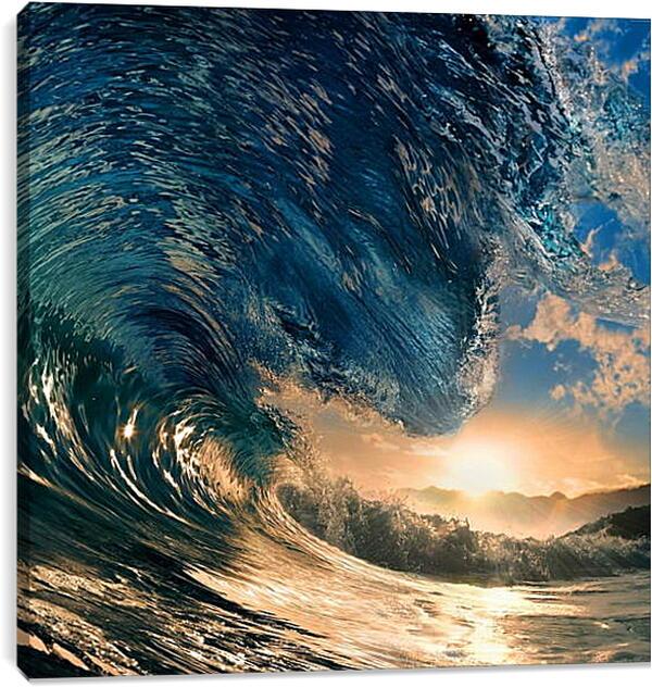 Постер на подрамнике - Волна