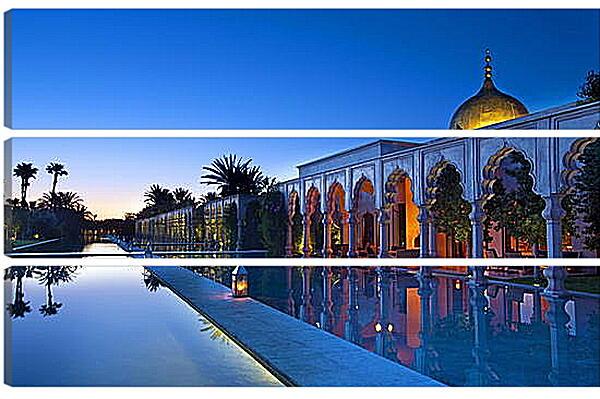 Модульная картина - Марокко