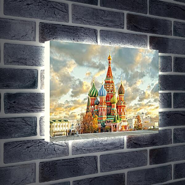 Лайтбокс световая панель - Красочная Москва