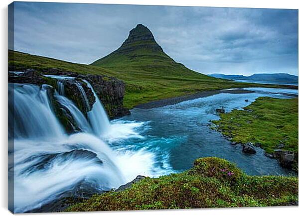 Постер на подрамнике - Природа Исландии