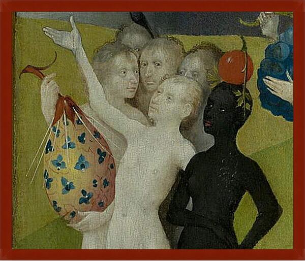 Картина в раме - Fictional fruit. Иероним Босх