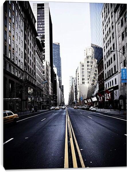 Постер на подрамнике - Улица