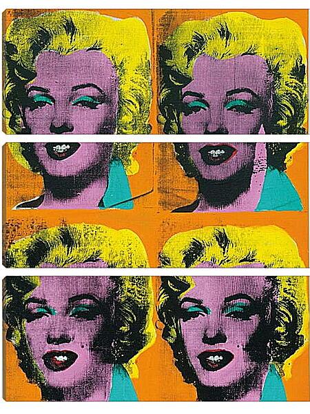 Модульная картина - Мэрилин Монро. Поп-арт