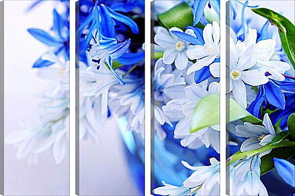 Модульная картина - Весенний цвет
