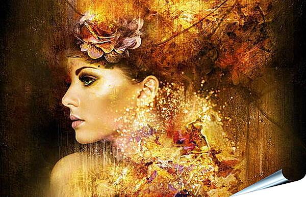 Плакат на стену - Девушка