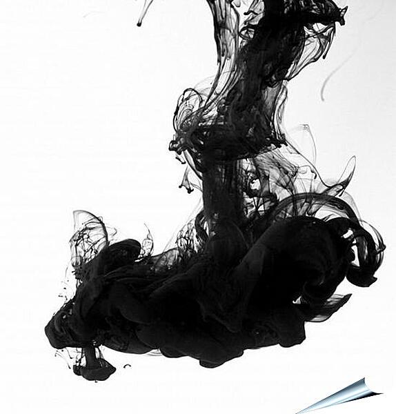 Плакат на стену - Черный дым