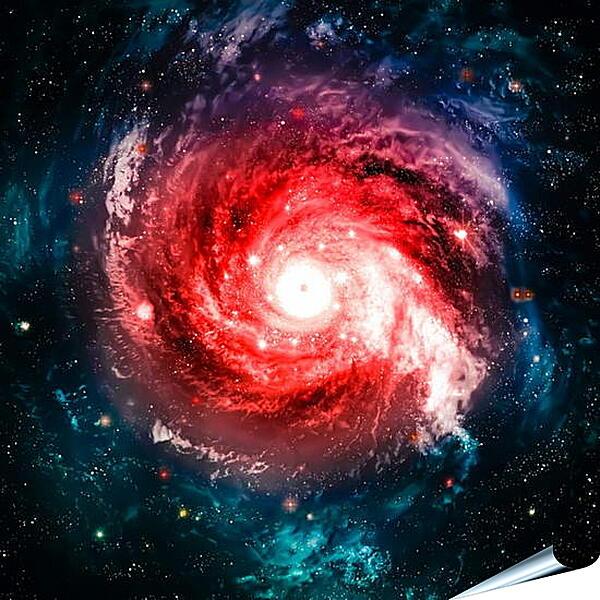 Плакат на стену - Галактика