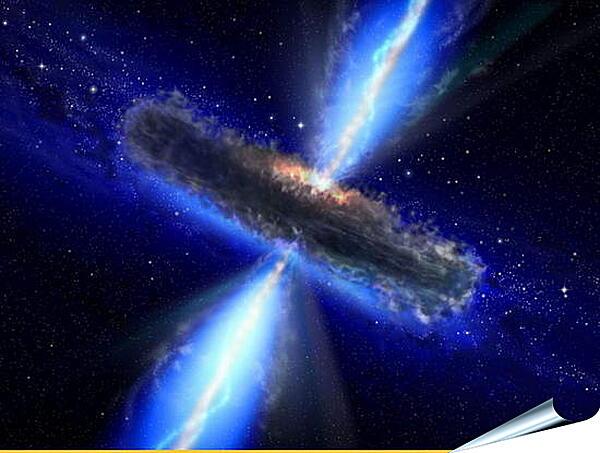 Плакат на стену - Рождение сверхновой