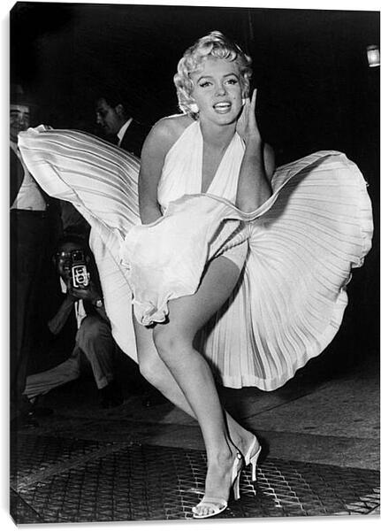 Постер на подрамнике - Мерилин Монро (Marilyn Monroe)