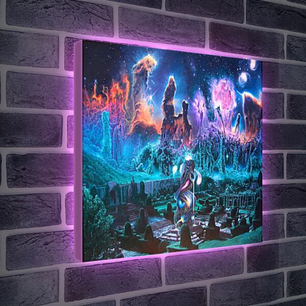 Лайтбокс световая панель - Космос