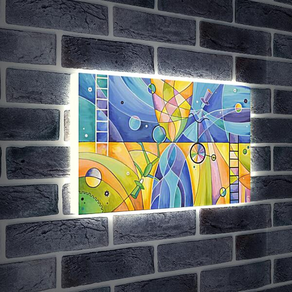 Лайтбокс световая панель - Эквилибриум