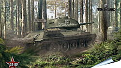 Плакат на стену - world of tanks, tank, timber