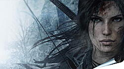 Плакат на стену - lara croft, rise of the tomb raider, face