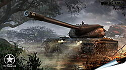 Плакат на стену - wargaming net, world of tanks, t57 heavy tank