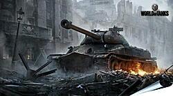 Плакат на стену - world of tanks, wargaming net, object 260