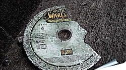 Плакат на стену - world of warcraft, disk, cover