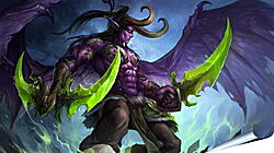 Плакат на стену - world of warcraft, illidan stormrage, art