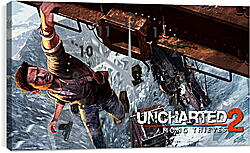 Часы картина - uncharted 2 among thieves, uncharted 2, danger