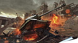 Плакат на стену - World Of Tanks