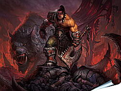 Плакат на стену - World Of Warcraft: Warlords Of Draenor