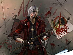 Плакат на стену - Devil May Cry