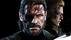 Плакат на стену - Metal Gear Solid V: The Phantom Pain