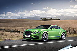 Плакат на стену - Бентли (Bentley continental gt)