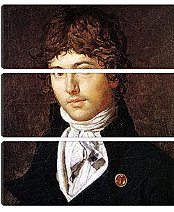 Модульная картина - Portrait of Pierre Francois Bernier. Жан Огюст Доминик Энгр