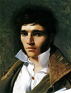 Плакат на стену - Portrait of Paul Lemoyne. Жан Огюст Доминик Энгр