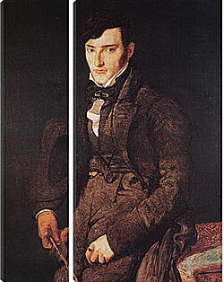 Модульная картина - Portrait of Jean Pierre Francois Gilibert. Жан Огюст Доминик Энгр